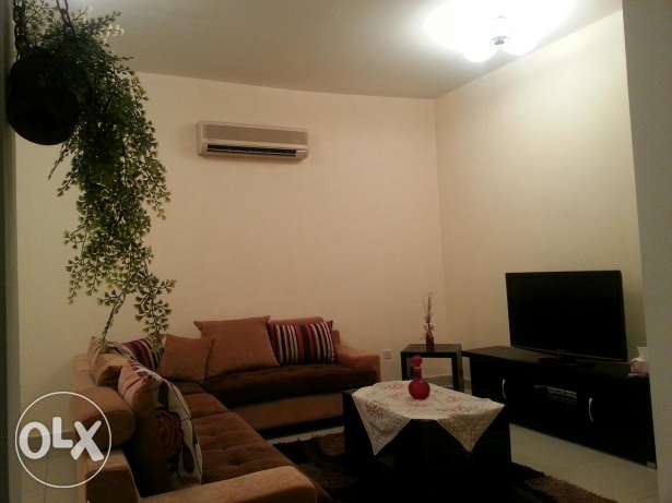 Two bedroom flat for rent in Bareeq Shati