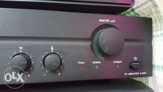 TOA Mixing Amplifier for sale. الرستاق -  1