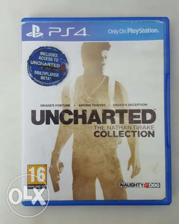 Brand new Uncharted collection cd 2