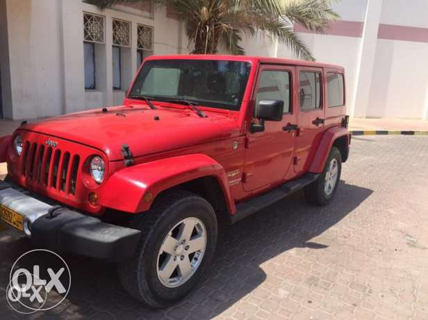 Jeep Wrangler Sahara 2012 perfect condition...