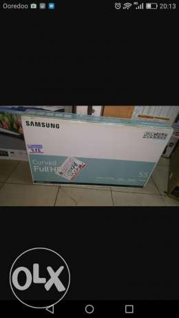 sumsung smart curved tv for sale55""