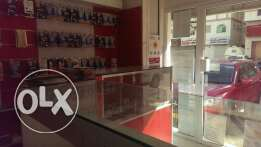 mobile shop with acceceries