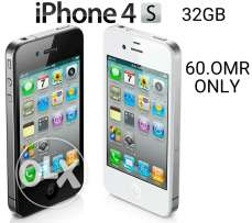 I phone 4s 32 gb available for sale.
