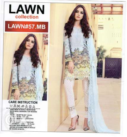 New lawn embroidary collection