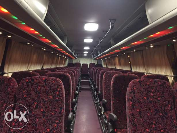 52 seat Bus for Rent for Tourist
