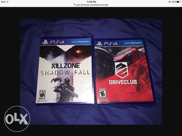 driveclub and killzone new not even opened
