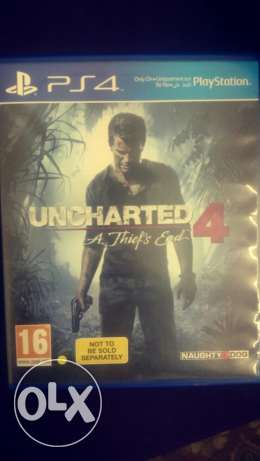 Uncharted 4 like new + 14 day plus