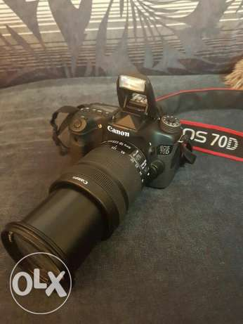 Canon 70D with 18-135mm IS مسقط -  1