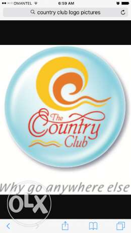 Country club membership