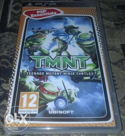 PSP TMNT Game For Sale