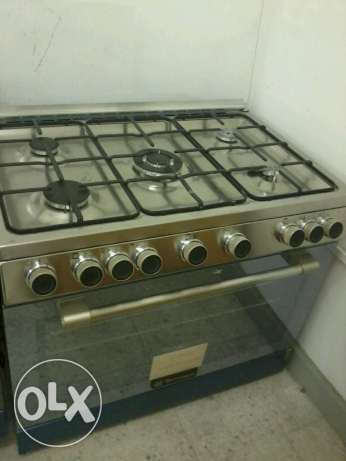 ITALY make cooking range Tecnogas Full Safety 90 x 60 imed sale