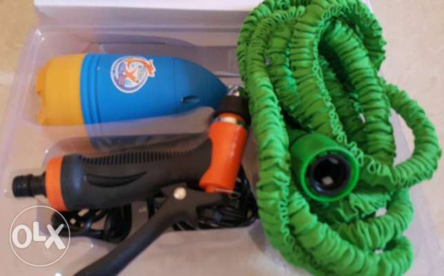 car cleaning full set with 10 meter hose pipe مسقط -  5