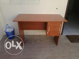 Study table with 3 drawers for sale in 10 OMR as expat leaving.