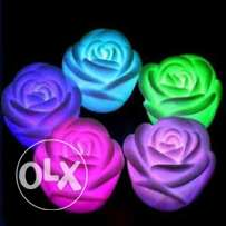 led colour changing roses- 6 pieces - OFFER