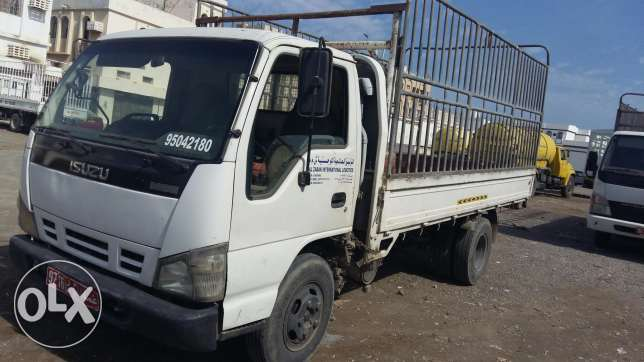 Truck for rent. نقل عام السيب -  2