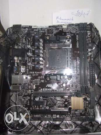 لوحة Motherboard : ASUS A68HM-PLUS الرستاق -  3