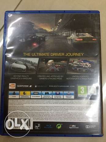 PS4 Game Project Cars for Sale. RO 15 مسقط -  2