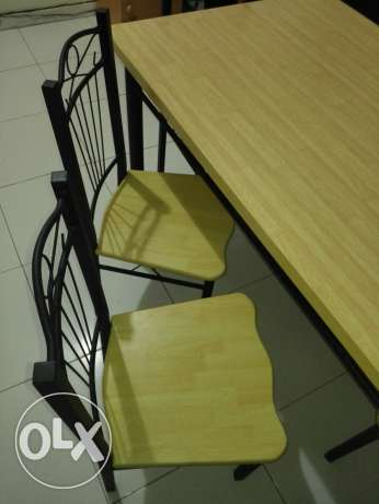 Dining table with six chairs مسقط -  5