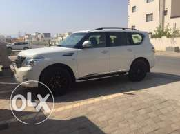 nissan Patrol 2012 full change to 2015