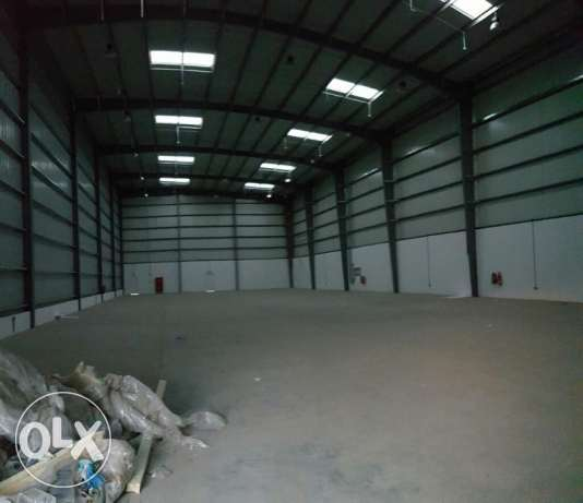 Storage or Warehouse AL Mesffa / Galla – After Cement Factory