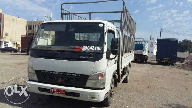 Truck for rent. نقل عام السيب -  1