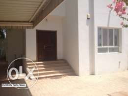 Good size 5bhk semi-detached villa available for rent in Ghoubra
