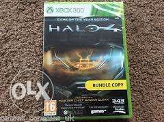 Halo 4 Game of the year edition + 2 DLC's +2 Xbox 360 games