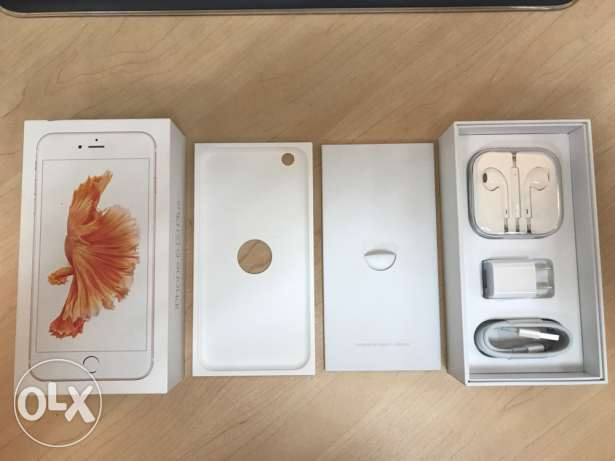 Apple iPhone 6S Plus Box and Accessories ONLY. New and in Wrapping