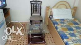 Furnished room Khuwair behind Jasmine Mall with attached bathroom