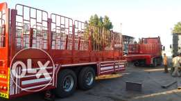 new extend able trailers for sale at nejoum al sajaa trailers ind.