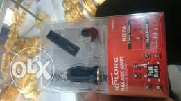 Iphone newBluetooth headset + car charger adapter cheap price tharmath