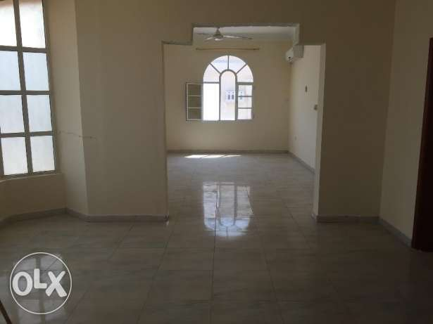 flat for rent in a villa with balcony in almawaleh south مسقط -  4