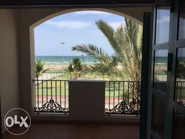 Beach first row 4BR Ghubra home