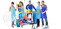Building cleaning and pest control