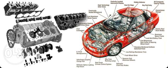 Heavy and light vehicles body parts