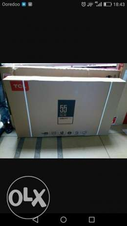 TCL 55 smart tv for sale مسقط -  1