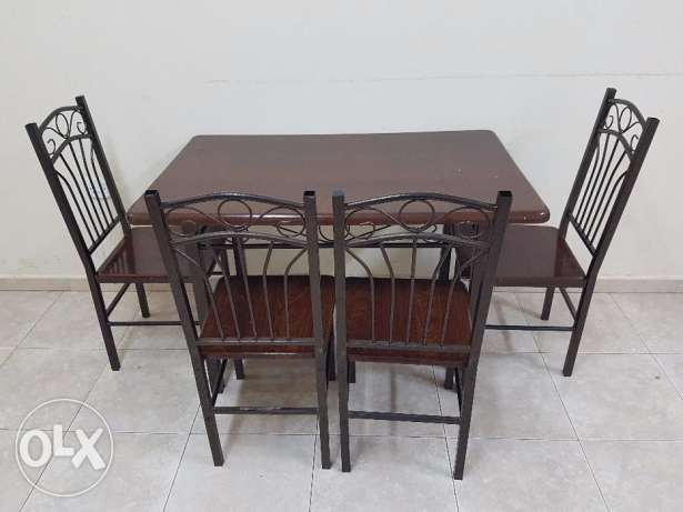Dining Table and Chairs for urgent Sale