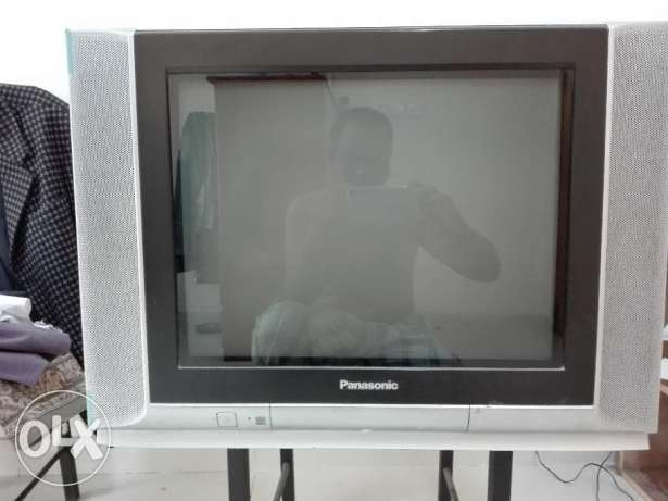 Pana Sonic Color TV-21""