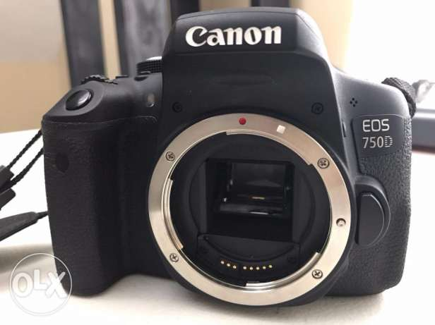 Canon 750dCanon 750d With 18-55mm Lens