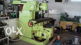 Miling machine in working condition