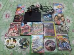 PlayStation 2 with CD and dushstich