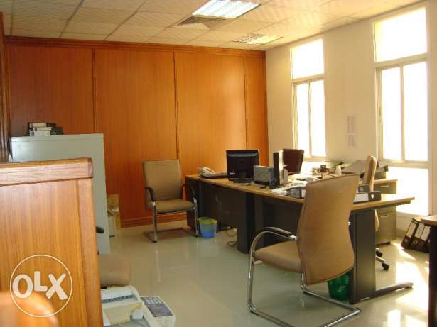 Fully furnished office for rent in Ghala near Royal Hospital مسقط -  1