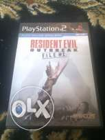 Resident Evil Outbreak file2 for PS2