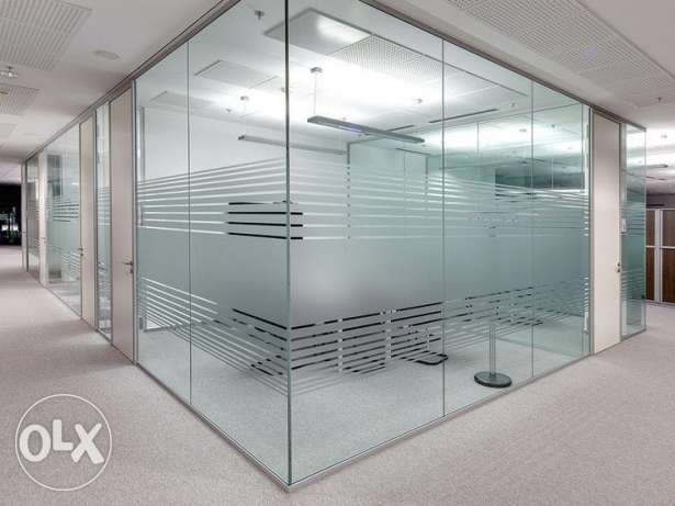Restaurants,Shops,Offices Decor, Glass and Gypsum Partition work Decor