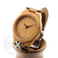 Classic yet cheap Bamboo Wood watch for men/women