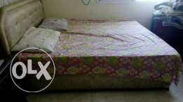 King size bed along with mattress