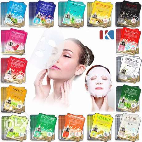 42 pieces of etude house sheet masks korean brand مسقط -  1