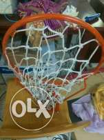 Basket ball ring with net