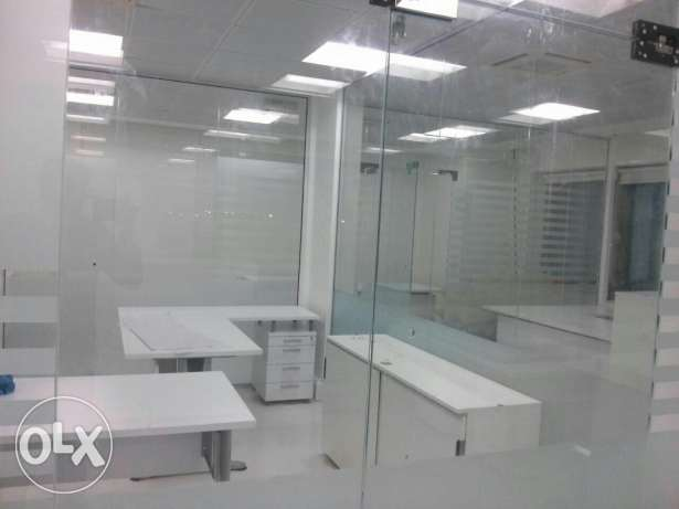 Glass work Glass Front Doors, Office Partitions, Office, Shop Decor مسقط -  2