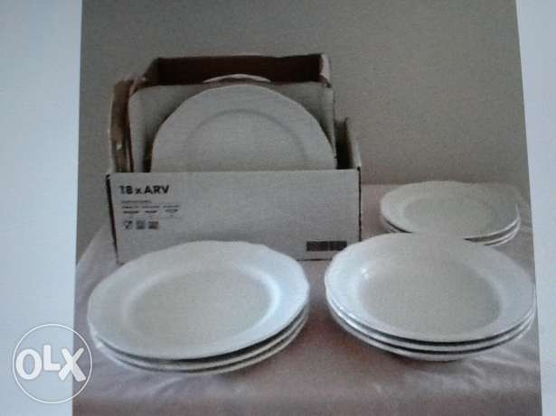 2 Brand new Dinner plates sets from IKEA for Sale مسقط -  1